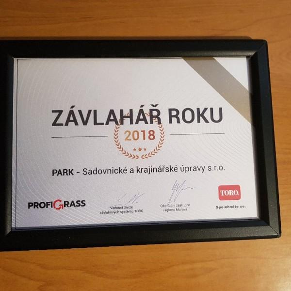 ZÁVLAHÁŘ ROKU 2018